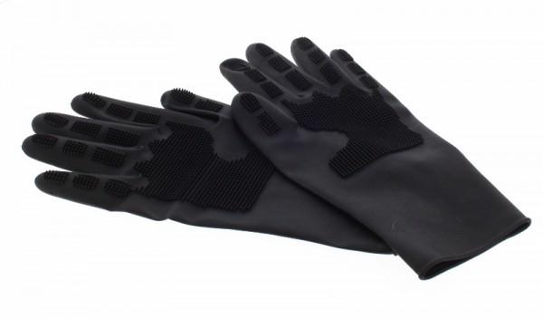 Silikon Trimm-Handschuhe (2 Stück)