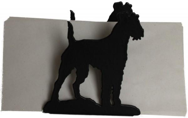 Irish Terrier Briefhalter