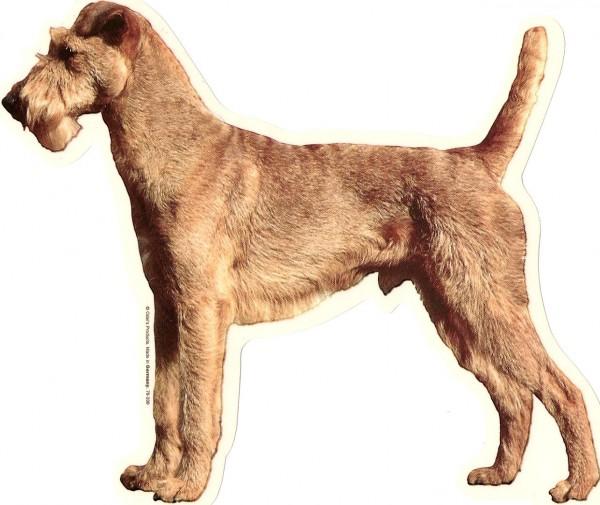 kleine Aufkleber - Irish Terrier