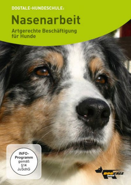 DVD Nasenarbeit, artgerechte Beschäftigung für Hunde von Uwe Friedrich
