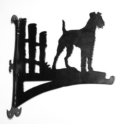 Irish Terrier Blumenampel